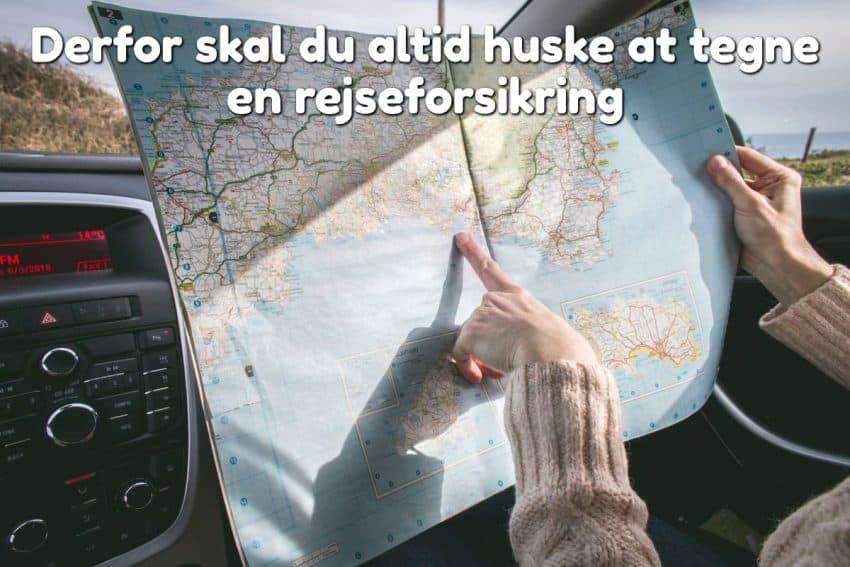 Derfor skal du altid huske at tegne en rejseforsikring